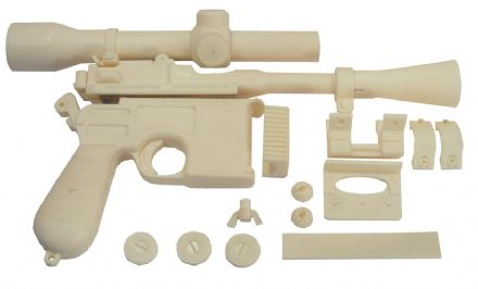 STAR WARS DL-44 DL44 HAN SOLO ANH GREEDO KILLER PROP BLASTER KIT